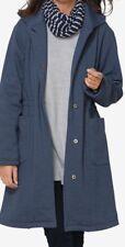 Plus Size Women's  Long Warm Anorak Tunic JACKET Size 2X Heather Blue LAST ONE