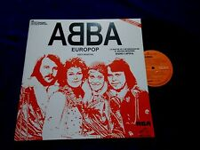 Abba-Europop-LP Mexico Promo Record Radio Unique Cover RCA