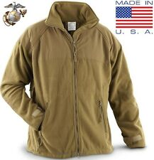 (Large-Reg) NEW USMC Marine POLARTEC 300 Fleece Jacket ECWCS Gen II Coyote Liner