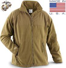 (Large-Reg) NEW USMC Marine POLARTEC 300 Fleece Jacket ECWCS Gen II Coyote Liner