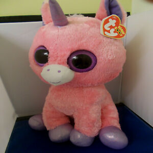 """MAGIC ***TY BEANIE BOOS BOO*** LARGE APPROX 16""""  PRE OWNED"""
