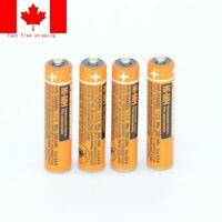 NI-MH AAA Rechargeable550mAh1.2V Panasonic HHR-55AAABU cordless phone Batteries
