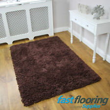 Spirit Chocolate *1.10 x 1.70* Lounge Rug 100% Acrylic Brown Rug *SALE* RRP £99
