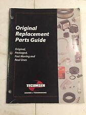 Tecumseh Original Replacement Parts Guide 2005