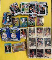 Huge Lot Of Baseball Basketball Football Cards Fleer NBA HOOPS Draft Picks