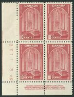 CANADA #241 MINT VF NH PLATE BLOCK