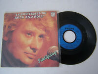 SP 2 T VINYLE 45 T , JOHNNY HALLYDAY , LE BON TEMPS DU ROCK AND ROLL . VG - / VG