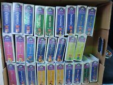 27-WALT DISNEY MASTERPIECE COLLECTION Vintage MCDONALD'S Happy Meal Toys 1996