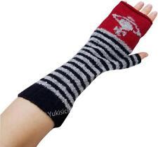 Vivienne Westwood Japan Fingerless Gloves Arm Warmers Orb Stripes-Wool-NWT