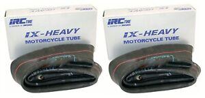 New IRC 80/100-21 & 100/100-18 Heavy-Duty Off-Road Inner Tube Set