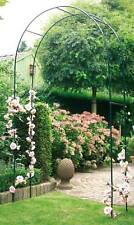 GARDEN STRONG METAL ROSE GATE ARCH CLIMBING PLANTS AND ROSES 1.4 x 2.4 METRES