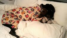 dog  all in one pyjamas made to measure