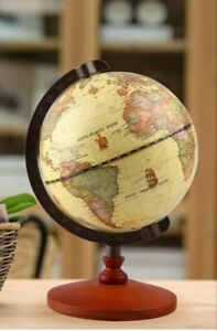 TTKTK Vintage Style World Decorative Desktop Rotating EarthGlobe NEW
