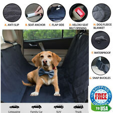 BarksBar Luxury Pet Car Seat Cover With Seat Anchors for Cars, Trucks and Suv'S