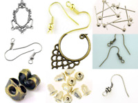 Rare Flair Jewellery Making Metal Ear Components Earrings VARIOUS STYLE CHOICE