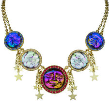 Kirks Folly Seaview Water Moon Freedom Necklace goldtone