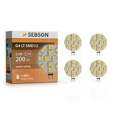 SEBSON LED Lampe G4 Warmweiß 3w (2.5w) ersetzt 20w Glühlampe 200lm Gu4
