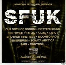 (H601) SFUK, Sampler Volume Two - DJ CD