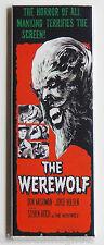 Werewolf FRIDGE MAGNET (1.5 x 4.5 inches) insert movie poster horror wolf man