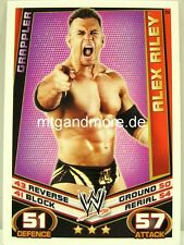 Slam Attax Rebellion - #052  Alex Riley - Grappler