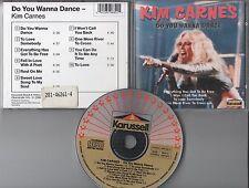 Kim Carnes CD Do You Wanna Dance/karusell pressione