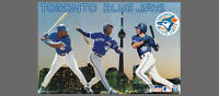 Toronto Blue Jays Classic 1995 POSTER Roberto Alomar, Joe Carter, Paul Molitor