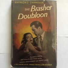 THE BRASHER DOUBLOON -- RAYMOND CHANDLER -- WORLD BOOKS 1946 -- VERY GOOD+