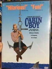 Cabin Boy ex-rental region 1 DVD (1994 Chris Elliott comedy movie)
