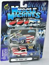 Funline 2003 - MUSCLE MACHINES - 1956 OLDSMOBILE 88 - patriotic - 1:64