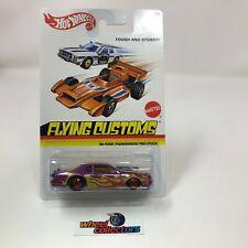 '86 Ford Thunderbird Pro Stock * Purple * Hot Wheels FLYING CUSTOMS * WA2