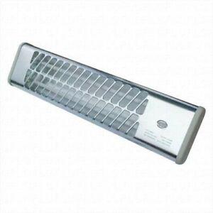 1200w Quartz Chrome Bathroom Wall Heater Garage Workshop 2 Heat Setting Infrared