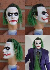 1/4 Scale figure custom The Joker head sculpt Hot Toys Enterbay compatible H7