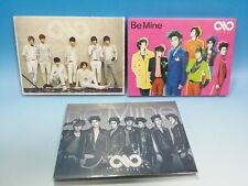 CD+DVD INFINITE Be Mine JAPAN First Limited TYPE-ABC Ver. SET Sungjong