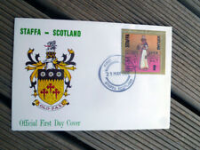 STAFFA SCOTLAND FIRST DAY COVER 1980 EGYPTIAN COSTUME STAMP