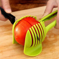 Kitchen Fruit Tomato Clip Holder Slicer Vegetable Lemon Potato Onion Cutter Tool