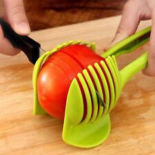 Kitchen Fruit Tomato Clip Holder Slicer Vegetable Lemon Potato Onion Cutter Tool