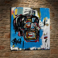 """Jean-Michel Basquiat """"Untitled,1982"""" oil painting on canvas huge wall 48x48inch"""