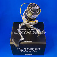 Shimano 15 TWIN POWER 4000PG, Spinning Reel Made In Japan, 033741