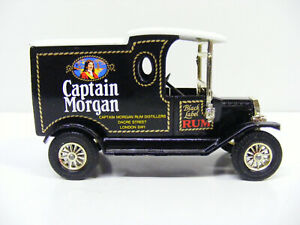 Matchbox Models Of Yesteryear Y12 Ford Model T Captain Morgan Large Rum Word