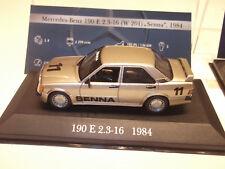 IXO Modell 1:43 Mercedes Benz 190 E 2.3-16 No. 11 Senna 1984 in Vitrine 1:43