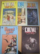 CHEVAL NOIR : 18 different issues. Moebius,DRUILLET,BOLLAND etc. DARK HORSE.1990