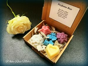 💖 Perfume Mixed Box  Handmade Soy Wax Melts  Highly Scented  Gift for her 💖