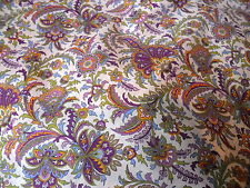 By the Metre Paisley Quilting Craft Fabrics