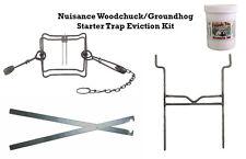 PcsOutdoors Nuisance Woodchuck/Groundhog Starter Trap Eviction Kit