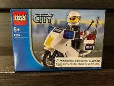 Brand New LEGO City 7235 Police Motorcycle  29 pcs