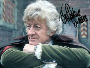 JON PERTWEE SIGNED PHOTO DR 8X10 RP AUTOGRAPHED ** DOCTOR WHO