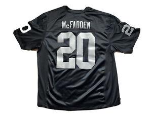 Nike On Field Raiders McFadden #20 Jersey Size XXL. Stitched Las Vegas LA