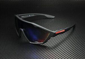 PRADA LINEA ROSSA Active PS 10US DG09Q1 Black Grey Blue Red 30 Men's Sunglasses