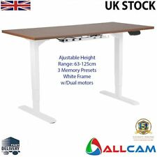 Allcam Electric Dual-motor Height Adjustable Desk Frame / Sit-stand Workstation
