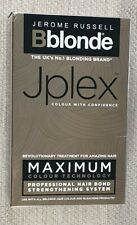 Jerome Russell Bblonde Jplex Max Professional Hair Bond Strengthening System NEW